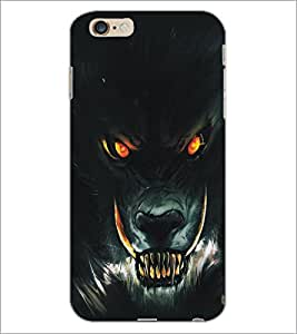 PrintDhaba Lion D-5135 Back Case Cover for APPLE IPHONE 6 PLUS (Multi-Coloured)