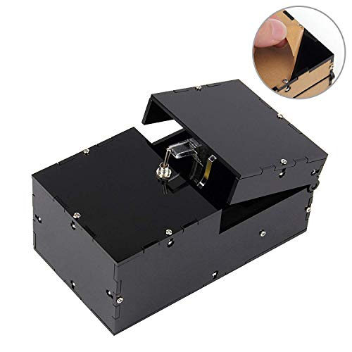 Bujingyun Fully Assembled Useless Box Leave Me Alone Machine For Birthday And Party Gift Toy Game (black)