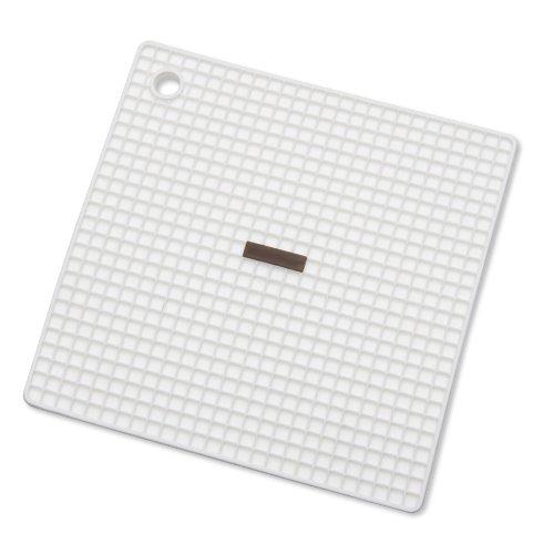 256880 Silikon-Topfhalter Untersetzer, weiß