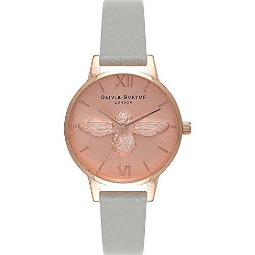 olivia-burton-womens-30mm-grey-leather-band-steel-case-quartz-gold-tone-dial-analog-watch-ob15am74