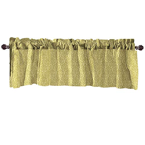 Crity - tenda mantovana per finestre extra larghe e corte, per cucina, soggiorno, bagno yellow