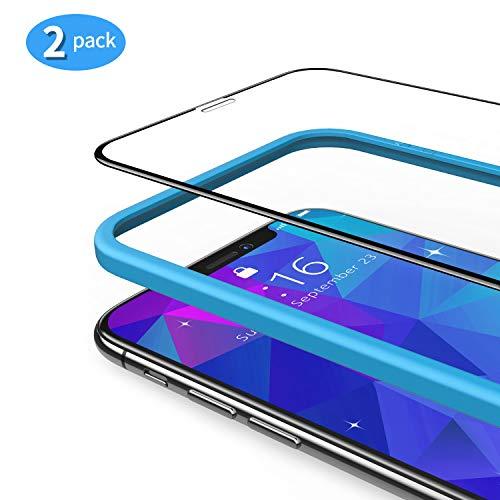 TAMOWA Protector Pantalla iPhone X/XS [2 Piezas]