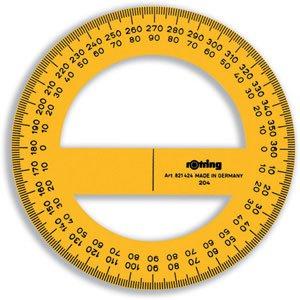 Winkelmesser 360° Vollkreis 10cm