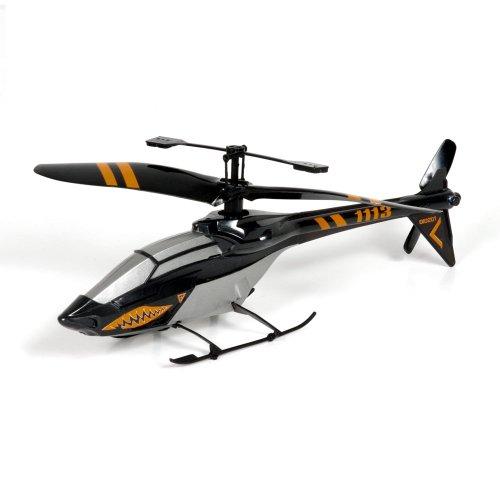 Air Raiders Nanocoptero Radiocontrol Shark, 4 canales, vuelo interior