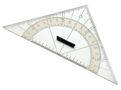 Kursdreieck groß - 32cm