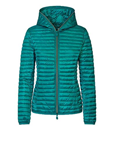 SAVE THE DUCK Giacca Outerwear Donna D3362wiris800143 Poliammide Verde