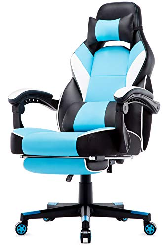 Intimate WM Heart Chaise de Bureau Gaming en Similicuir, Fauteuil Racing Inclinable, Siège...