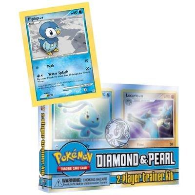 Preisvergleich Produktbild Pokémon Trainer Kit Diamant & Perl, deutsch
