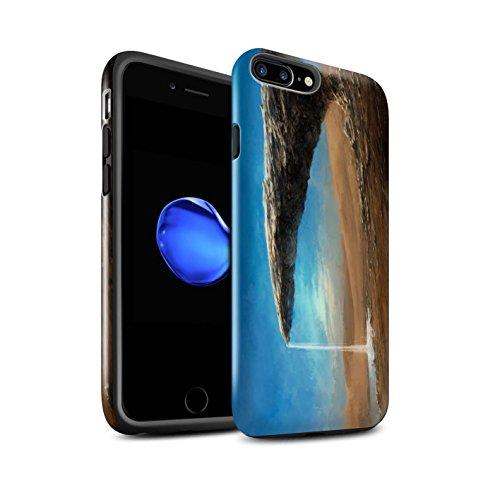 Offiziell Chris Cold Hülle / Glanz Harten Stoßfest Case für Apple iPhone 7 Plus / Phönix/Raumzeit Muster / Galaktische Welt Kollektion Exoplanet