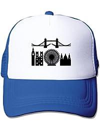 Customized Big Ben And London Tower Bridge Male/Female Baseball Cap Leisure Hat Adjustable 100% Nylon By JE9WZ