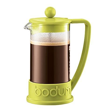 Bodum Brazil French Press Coffee Maker, 0.35 L - Green