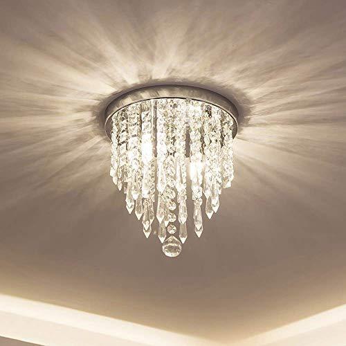 YQJJZX Mini lampadari di Cristallo, plafoniera, plafoniere da Incasso, lampadari Moderni per camere da Letto, corridoi, Bar, cucine, bagni