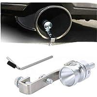 takestop Turbo Sound ws1241Sifflet pour Pot d'échappement Taille m Valve terminale Effet Turbo Turbine Sifflet de Voiture