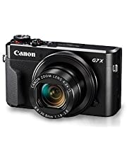 Canon PowerShot G7 X Mark II, 16GB Card and Carry Case
