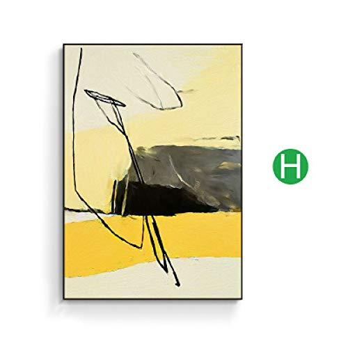El póster está impreso en el lienzo, que es el mejor material para póster, es grueso, fuerte, impermeable, el póster tiene un color intenso y no se desvanece.  Es ideal para la decoración del hogar, la decoración de los dormitorios de los niños Decor...