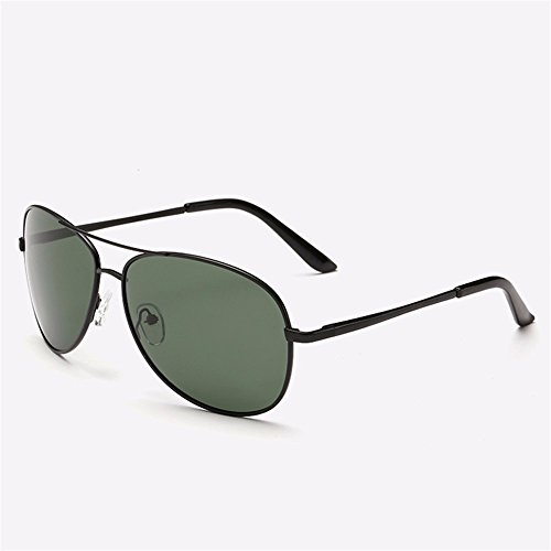 Fahrer Tinte (Männer Sonnenbrillen/Sonnenbrillen/Männer fahren Fahrspiegel/Fahrer Gläser/polarisierte Jurte/Gezeiten, Black Box Tinte grüne Blatt)