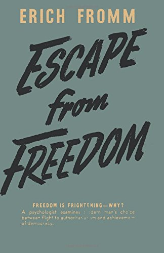 erich fromm escape from freedom pdf free