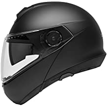SCHUBERTH C4 Matt Black Casque Moto Modulable (L,noir)