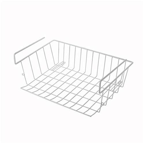 Draht-speicher-korb (liuxi Unter Kabinett-Speicher-Regal, Draht-Korb-Organisator-Gestell auf Küchen-Zähler-Speisekammer-Schreibtisch-Bücherregal-Schrank, 15.35 × 9.84 × 5.9in)