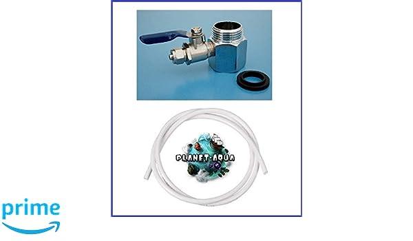 Side By Side Kühlschrank Festwasseranschluss : Messing wasseranschluss adapter set 1 2 zoll gewinde mit 1 4