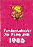 Taschenkalender der Feuerwehr 1986 DDR