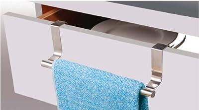 MSV MS217 - Patera cuelga paño/toallero de acero inoxidable