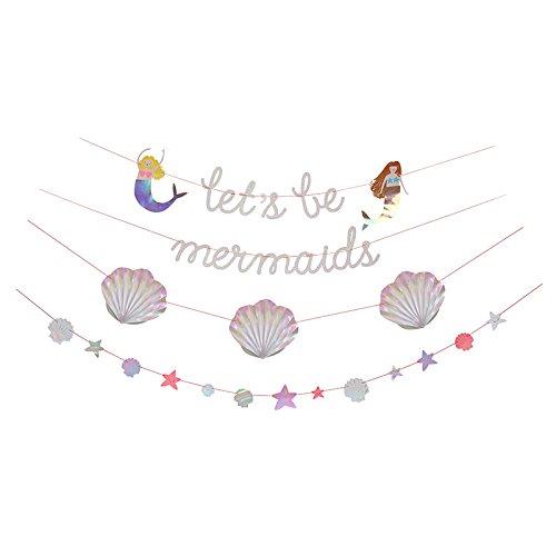 Preisvergleich Produktbild Girlanden Meerjungfrauen Party - Let's be mermaids von Meri Meri