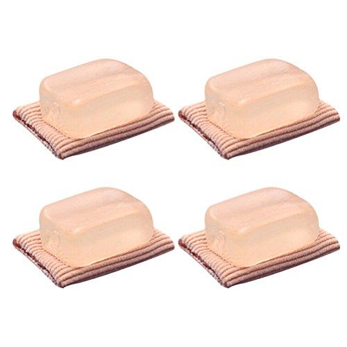 Separador del Dedo, ROSENICE Correcctor Pie para aliviar dolor Silicona 4 piezas