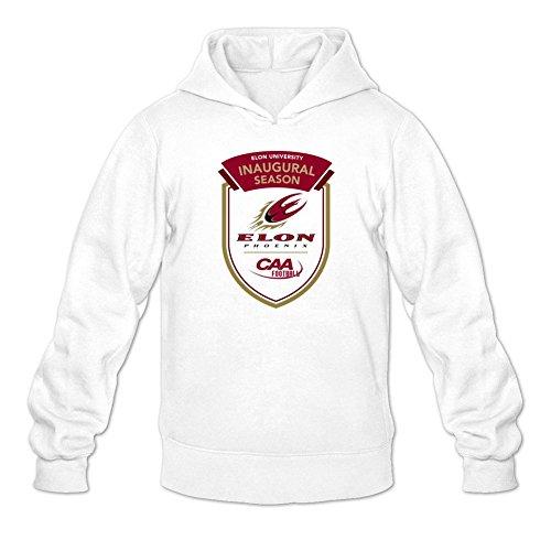 Men's American College Football Team Caa Elon Phoenix Logo Hoodies
