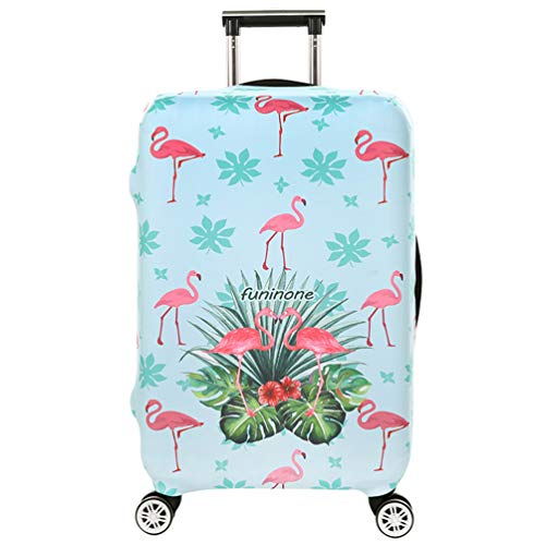 YiiJee Housse de Valise 18-28 Pouces Luggage Cover Anti-rayures Voyage Luggage Trolley Case Cover Protector Comme Image2 L