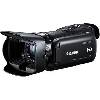 """Canon Legria HF G25 - Videocámara manual (pantalla de 3.5"""", 565 g, (2.37 Mp, zoom óptico 10x, estabilizador), color negro"""