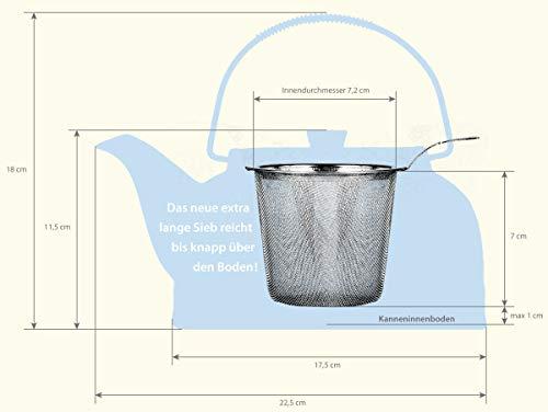 Porzellan Teeservice / Teeset 7-teilig Schwarz/Rot (JY-012*3587/D28)