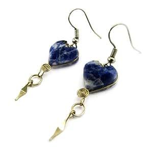 Les Trésors De Lily [E4502] - Boucles 'Zacatecas' Bleu