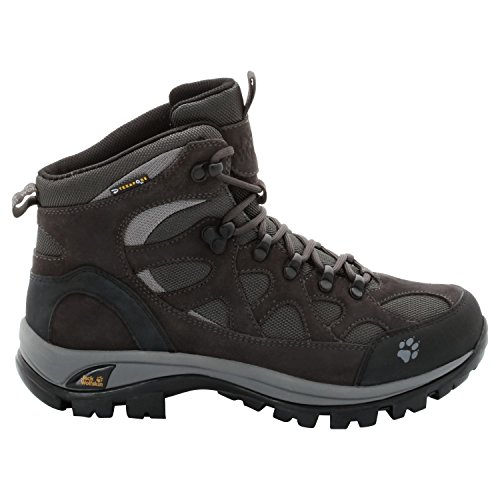 Jack Wolfskin All Terrain - chaussures trekking Femme - Texapore gris/noir 2014 chaussures montagne