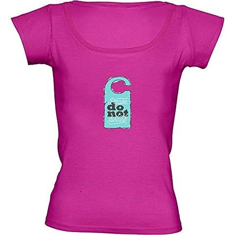 Camiseta Cuello Redondo para Mujer - Tipografía De La Diversión De Texto Motivación by UtArt