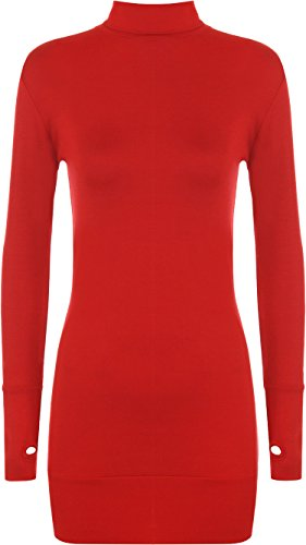 Unknown - Robe - Moulante - Femme Rouge
