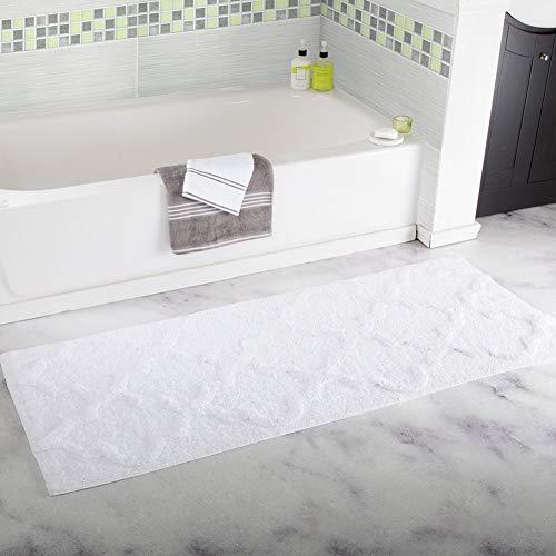 SLMY Bad Küche Kofferraum absorbierende Anti-Rutsch-Matte atmungsaktiv saugfähigen Flockteppich 45 * 120-4-45 * 120CM