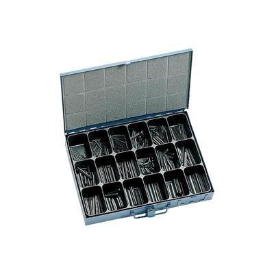 PL NoName 810773 450tlg. Spannhülsen-Sortiment Inhalt 450 St. 2f. Lieferumfang 18 Sorten von 2 x 20 bis 10 x