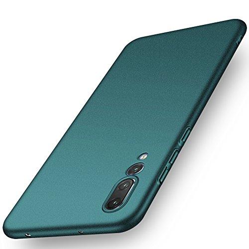 ORNARTO Funda Huawei P20 Pro, HW P20 Pro Carcasa [Ultra-Delgado] [Ligera] Mate Anti-Arañazos y Antideslizante Alta Calidad Protectora Sedoso Caso para Huawei P20 Pro(2018) 6.1' Arena Verde
