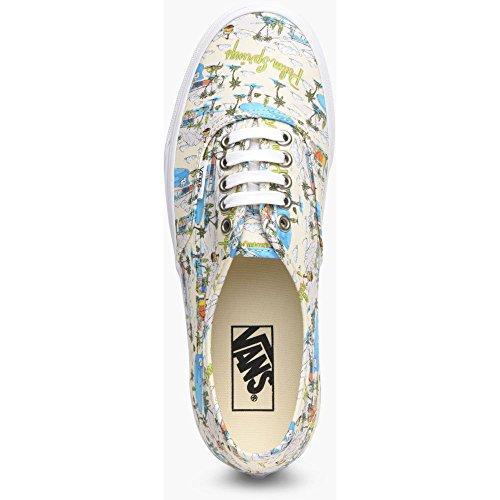 Vans Women's Authentic Women's Cloud Cream Sneakers Textile Cloud Cream/true White