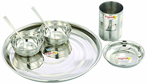 Pigeon Lunch Set, 7-Pieces  available at amazon for Rs.399