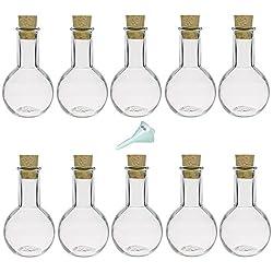 Glasflaschen für Gastgeschenke