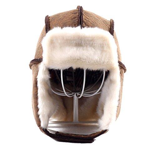 Sweet Home Men/Women Winter Waterproof Warm Fur Lumberjack Hats Russian