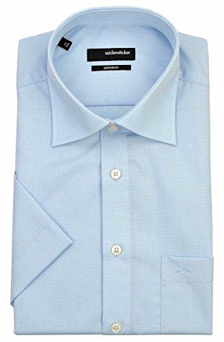 Con superficie adesiva Splendesto camicia a maniche corte - azzurro