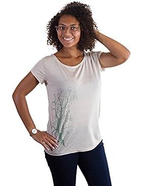 Ropa justa modal camiseta mujer