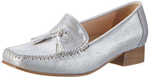 Sioux Ainura, Mocassins (loafers) femme Grau (Linen)