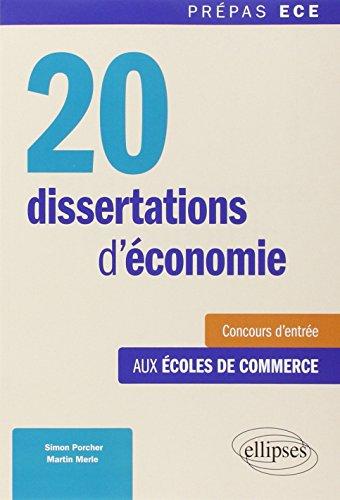 20 Dissertations d'Économie Concour...