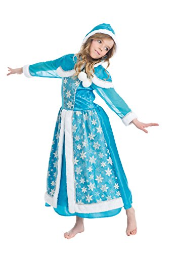 Kostüm Königin Eis - Chaks c4120140, Kostüm Königin der Eis 140cm, 10-12Jahre