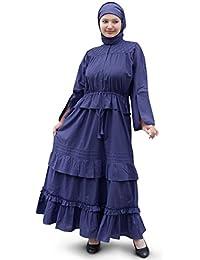 MyBatua Women's Abal Cotton Abaya Online
