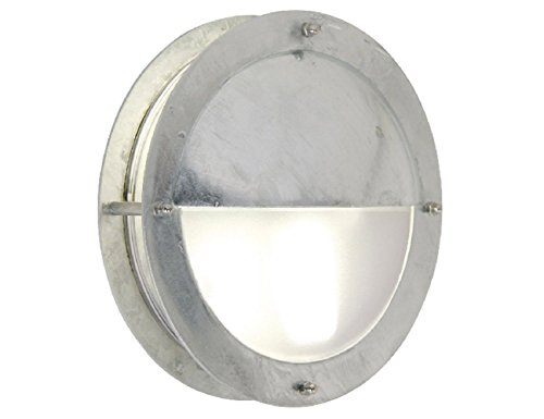 Nordlux 21841031 Malte - Lámpara de Pared (Casquillo E27, 60 W, IP54, galvanizada)